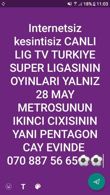 Bakı şəhərində lig tv ye internetle deyil canli lig tv vasitesile baxin 28de pentagon