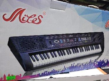 Pianino sintezator Elektron 5 Oktava həcmində fləş kartli mikrafonlu