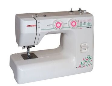 Швейная машина janome lw-30характеристики, тип управления