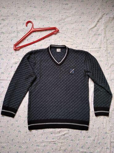 Личные вещи - Ош: Стильный пуловер с V - образным вырезомКрасивый дизайн и приятный