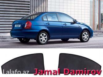 Bakı şəhərində Hyundai accent 2006 və hər növ avtomobil üçün pərdələr. 25-30