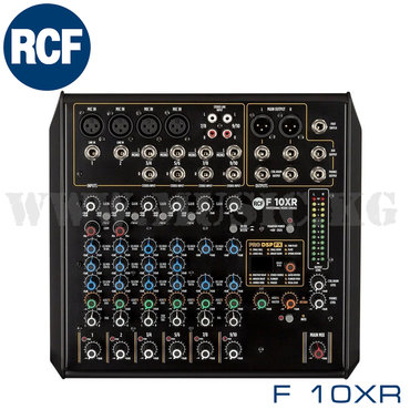 Микшерный пульт RCF F 10XRМощная маршрутизация с интуитивно понятным