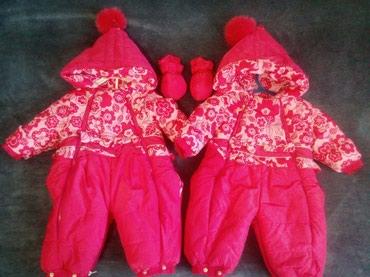 детские куртки комбинезоны в Кыргызстан: Детские куртки .Два комбинезона,очень теплые,в комплект входят
