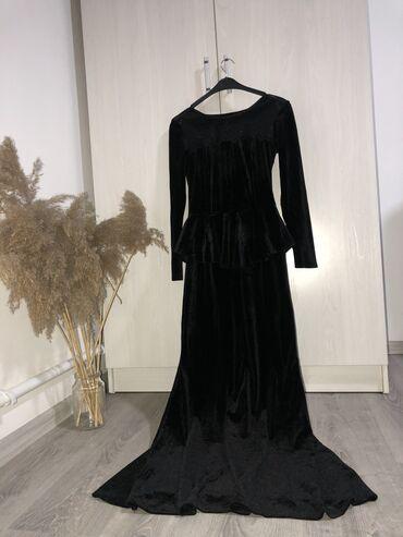 девушка на ночь цена in Кыргызстан | ФУТБОЛКИ: Платье вечернее, нарядная, почти новая размер 42-44 цена 500 «В гардер