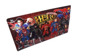 Batman - Srbija: SPAJDERMEN (SPIDERMAN crni i srveni) SUPERMEN (SUPERMAN) BETMEN