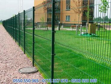 забор бишкек в Кыргызстан: Заборная сетка сварная Гиттер, заборы 3д еврозабор ограждения из сетки