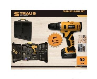 STRAUS Austria akumulatorska bušilica 24V -92 dela - Subotica