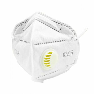 .Маска-респиратор KN95 . Фильтр KN95 борется с бактериями и вирусами