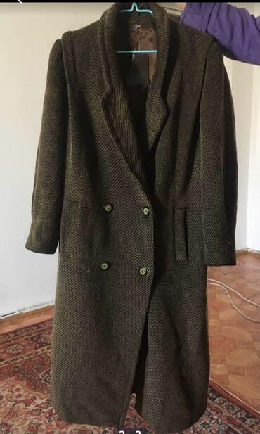 пальто лама в Кыргызстан: Женское демисезонное пальто лама, производство США, с подкладом, 50-52