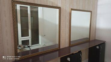 55 объявлений: Новые Зеркала размер 100\100 Цена: 1250 за 1 шт Полка цена 3000 сом на