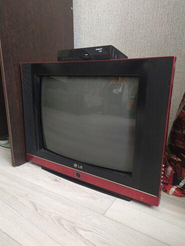 stekljannuju podstavku dlja tv в Кыргызстан: Телевизор, Tv, телик. В хорошем состоянии, продаю вместе с ресивером