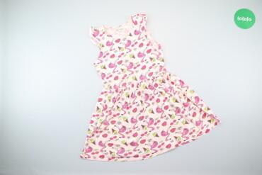 Детская одежда и обувь - Киев: Дитяча сукня з яскравим принтом Piazza Italia, вік 7-8 р.    Довжина