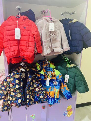куртки для новорожденных в Кыргызстан: Магазин детской одежды у нас в наличии куртки,кофты,джинсы платья