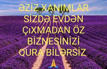 qadın üçün futzal - Azərbaycan: Şəbəkə marketinqi məsləhətçisi. Təhlükəsiz biznes. İstənilən yaş. Natamam iş günü