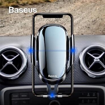 Zabrat şəhərində Baseus firmasinin avtomobilde hava vurulan yere kecen sensorlu telefon
