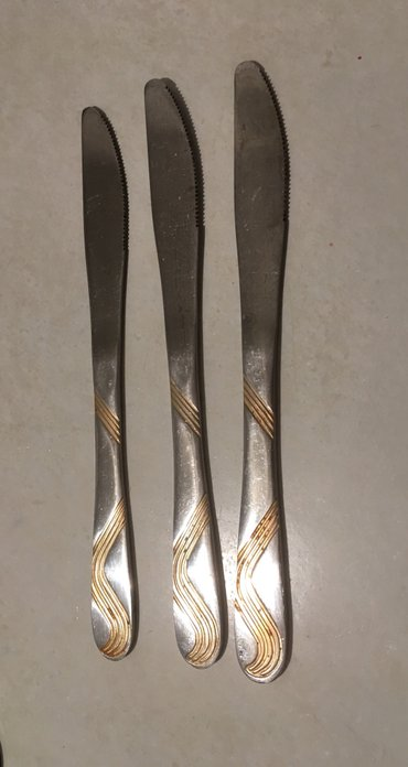 Советская нержавейка ножи 3 шт =60 сом в Бишкек
