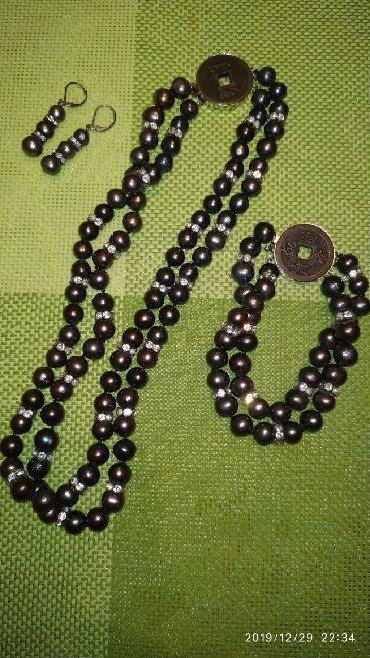 Шикарные сережки - Кыргызстан: Шикарный подарок, набор-комплект.Колье, браслет, серёжки,сделает Вас