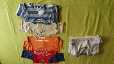 Majice za decake vel.od 9 m-godinu ipo,ukupno 10 majici,tri ves majice - Petrovac na Mlavi