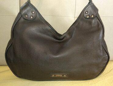 Braon bermude - Srbija: Mona - odlična veća kožna torbaFantastična Mona torba, u tamno braon