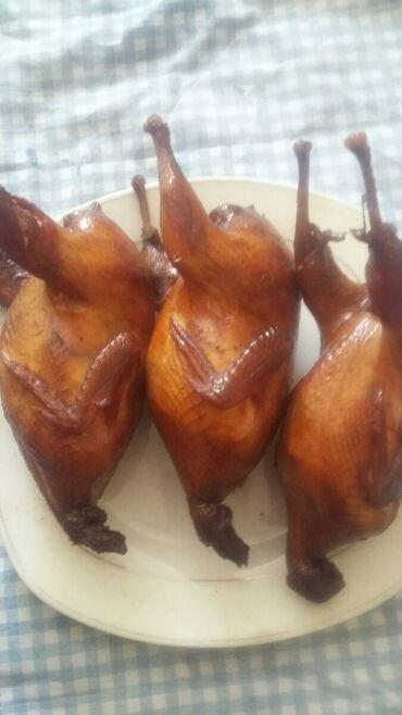 Готовые блюда, кулинария - Кыргызстан: Перепела капченные