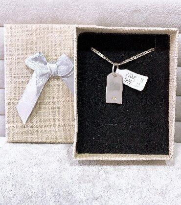 Кулоны (подвески) - Кыргызстан: Идеальный подарок для ваших любимых Новый кулон Жетон Турецкое Серебро
