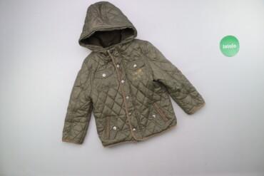 Дитяча демісезонна куртка F&F, вік 4-5 р., зріст 110 см    Довжина