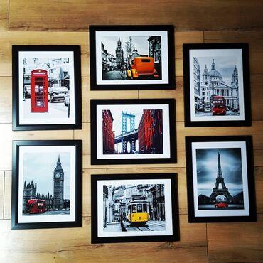 Картины. Постеры. Декор стен и поверхности консолей, современными арт
