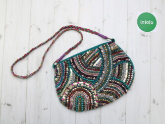 Личные вещи в Украина: Стильная женская сумка-клатч со стразами и бисером Accessorize  Высота