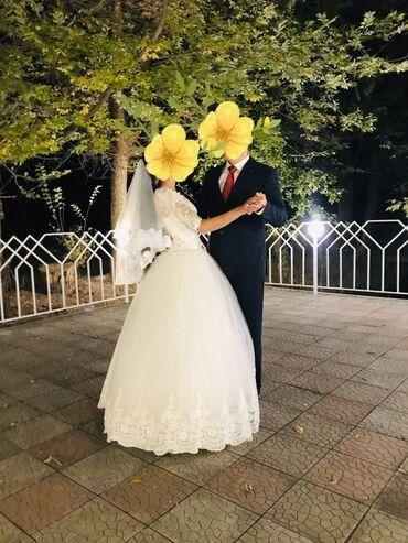 Свадебные платья +фата + болеро