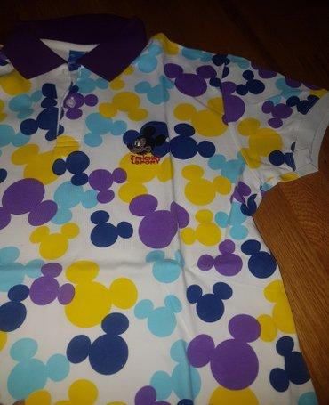 Majica-decija - Srbija: Disney original majica decija nova sa kragnicom oko 14 godina ili s za