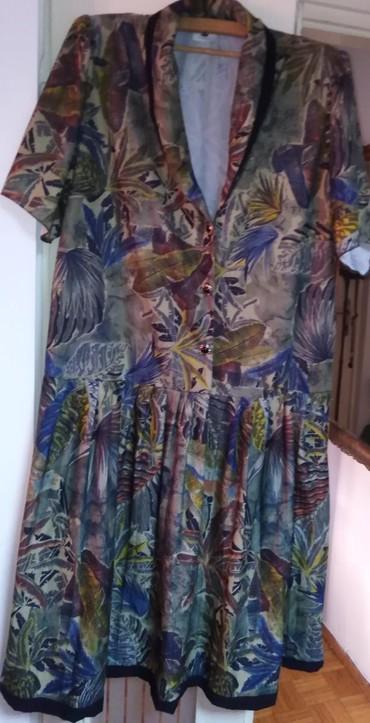 Duks haljina - Crvenka: HALJINA ZA LETO BR 44