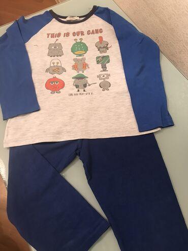 pijama - Azərbaycan: 6-7 yasha,Ev paltari,pijama kimi de istefade oluna biler