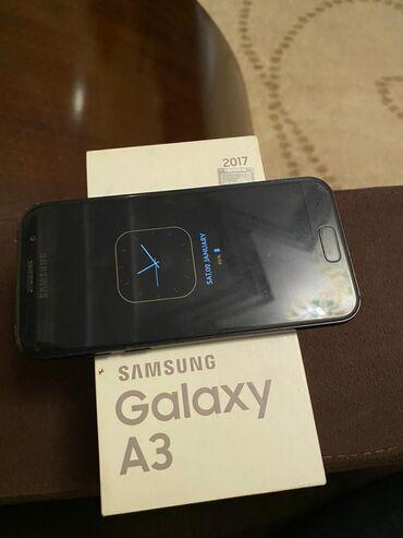 A3 - Azərbaycan: İşlənmiş Samsung Galaxy A3 2017 16 GB qara