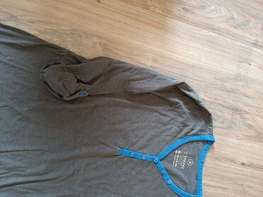 Majica sl - Srbija: Fishbone slim fit muska majica dugi rukav. Veličina M Rukavi mogu kao
