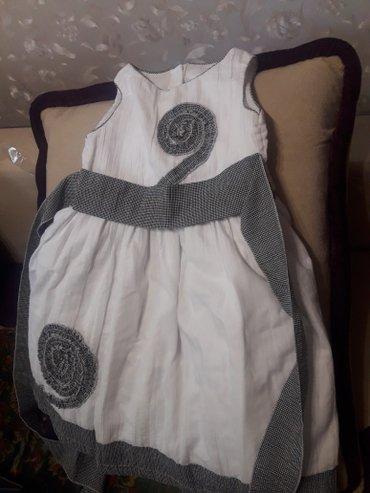 Продаю нарядное платье на девочку 5-6 лет. в Бишкек