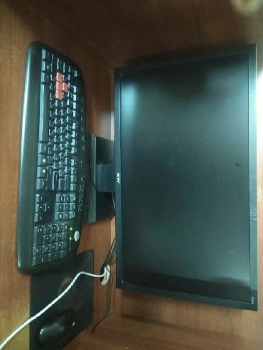 компьютеры geforce gt в Кыргызстан: Intel(R) celeron(R) CPU G1610 2.60GHz ozu 4GB HDD 320GB  GeForce GT430