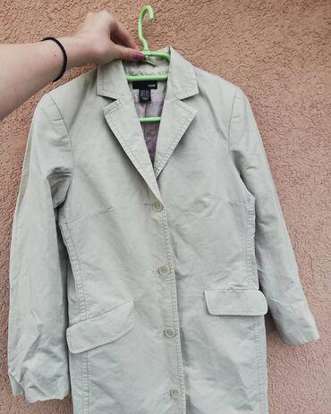 Mantil braon - Srbija: Predivan H&M mantil, savrsen za ovo prelazno vreme, velicina S i m