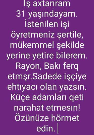 heftelik-is - Azərbaycan: İş axtariram