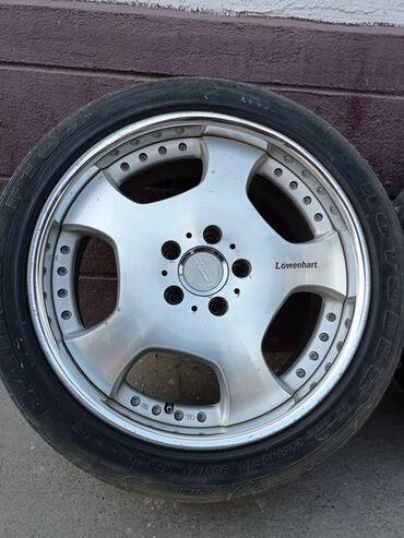 шины и диски в Кыргызстан: Продаю диски R18, отличный вид, хорошее состояние, шины летние