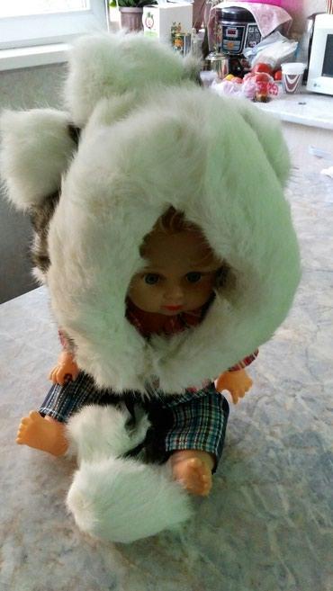 Продаю детскую меховую шапку, мех в Бишкек