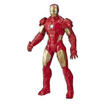 Figura - Srbija: Iron Man Marvel Avengers Action Figure  Visina 24 cm  Novo