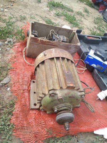 Электро мотор , 220 через конденсатор. в Каракол