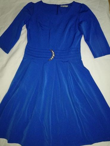 Haljina, kraljevsko plava, kao nova - Jagodina