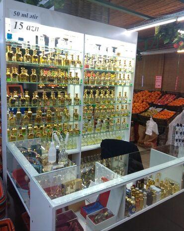 - Azərbaycan: Şəbəkə marketlərdən birində hazır ətir biznesi satılır. Vitrin mallar