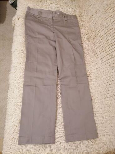 Zenske pantalone broj mis boja - Srbija: Zenske p. S. Pantalone, kao nove, boja siva, par puta nosene, velicina