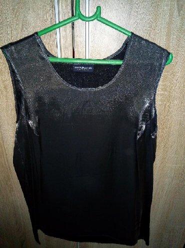 Elegantna bluza xl - Srbija: Vrlo elegantna ženska bluza, bez rukava. Za ispod sakoa. Satensko-sive
