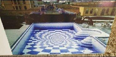 Hovuz ve Fontan en Muasir dizaynda muxtelif olcude keyfiyyetli hovuz