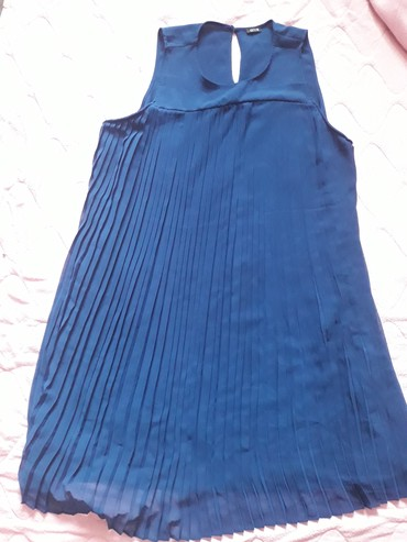 Divna moderna plava haljina,nenosena,xxl,iz Nemacke - Pozega