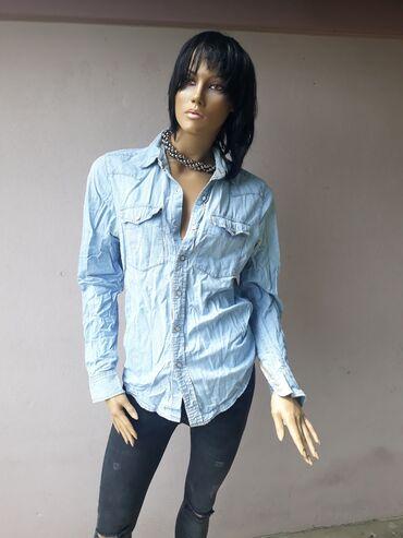 Levi's original teksas košuljica Velicina M/L tanji teksas sa