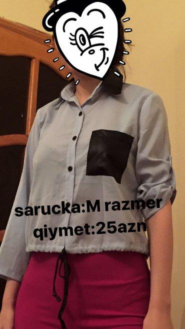 Bakı şəhərində sarucka M razmer teze.